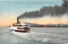 shi045174 - Southern Pacific Ferry Boat San Francisco Bay, California USA Ship Postcard Post Card