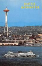 shi045175 - Washington State Ferries Seattle, Washington USA Ship Postcard Post Card