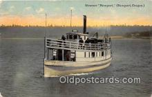 shi045182 - Steamer Newport Newport, Oregon USA Ship Postcard Post Card