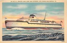 shi045186 - SS Princess Anne Ferry Boat Norfolk, VA USA Ship Postcard Post Card