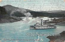 shi045191 - Steamer Bailey Gatzert Cascade Locks Ship Postcard Post Card