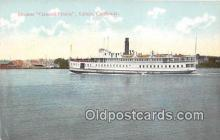 shi045199 - Steamer General Frisbie Vallejo, California USA Ship Postcard Post Card