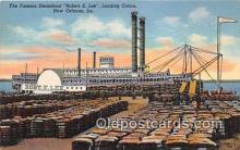 shi045202 - Steamboat Robert E Lee New Orleans, LA USA Ship Postcard Post Card
