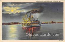 shi045204 - Ohio River Louisville, KY USA Ship Postcard Post Card