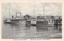 shi045205 - Glass Bottom Boats Catalina Island, California Ship Postcard Post Card