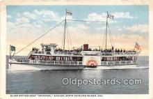 shi045206 - Glass Bottom Boat Emperor Santa Catalina Island, California Ship Postcard Post Card