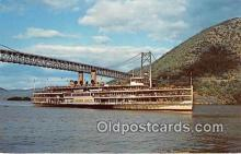 shi045218 - Alexander Hamilton, Hudson River Day Line's Ship New York City USA Ship Postcard Post Card