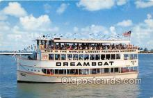 shi045227 - Seven Seas Dreamboat Miami, Florida USA Ship Postcard Post Card