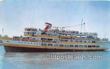 shi045229 - SS Mount Vernon Wilson Linnes, New Pier Four Ship Postcard Post Card