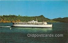 shi045231 - MV Queen of Vancouver Victoria, BC Ship Postcard Post Card
