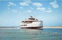 shi045233 - Ocracoke Sea Level Atlantic Ferry Ship Postcard Post Card