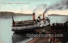 shi045237 - NRL Steamer Chippewa Lewiston Ship Postcard Post Card