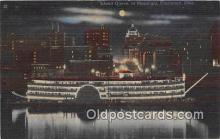 shi045243 - Island Queen Cincinnati, Ohio USA Ship Postcard Post Card
