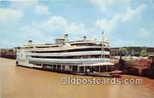 shi045244 - Mississippi River Excursion Liner SS President New Orleans, LA USA Ship Postcard Post Card