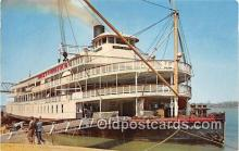 shi045245 - Delta Queen Mississippi River USA Ship Postcard Post Card