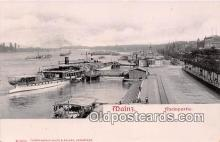 shi045253 - Mainz Rheinpartie Ship Postcard Post Card