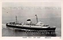 shi045260 - Paquebot SNCF Cote D'Azur  Ship Postcard Post Card
