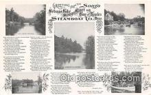 shi045266 - Steamboat Co Songo Ship Postcard Post Card