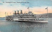 shi045268 - Str Washington Irving Hudson River Day Line Ship Postcard Post Card
