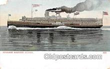 shi045270 - Steamer Western States  Ship Postcard Post Card