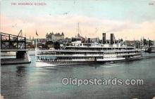 shi045271 - Hendrick Hudson 1905 Ship Postcard Post Card