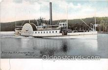 shi045278 - Steamer Mount Washington Alton Bay, NH USA Ship Postcard Post Card