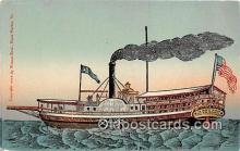 shi045282 - Steamboat Lake Champlain Ship Postcard Post Card
