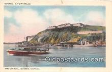 shi045284 - The Citadel Quebec, Canada Ship Postcard Post Card