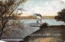 shi045286 - Lake Keuka, NY USA Ship Postcard Post Card