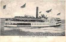 shi045287 - Steamer Louise Pride of Chesapeake Bay Ship Postcard Post Card