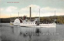 shi045288 - Steamer Mt Washington  Ship Postcard Post Card