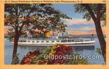 shi045290 - MV Mount Washington Lake Winnipesaukee, NH USA Ship Postcard Post Card