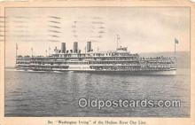 shi045291 - Str Washington Irving Hudson River Day Line Ship Postcard Post Card