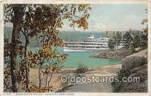 shi045292 - Washington Irving Rounding West Point, NY  USA Ship Postcard Post Card