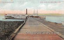 shi045298 - Ste Anne De Beaupre Quebec, Canada Ship Postcard Post Card