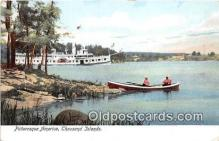 shi045299 - Thousand Islands Ship Postcard Post Card