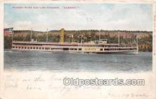 shi045300 - Hudson River Day Line Steamer  Ship Postcard Post Card