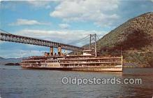 shi045302 - Alexander Hamilton, Hudson River Day Line's Ship New York City Sept 1970 Ship Postcard Post Card