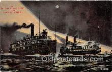 shi045308 - Lake Erie  Ship Postcard Post Card