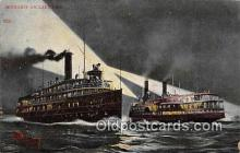 shi045314 - Lake Erie  Ship Postcard Post Card