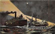 shi045315 - Lake Erie  Ship Postcard Post Card
