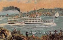 shi045316 - Steamboat Robert Fulton Kapex 71 Host April 17-18 Albany, NY Ship Postcard Post Card
