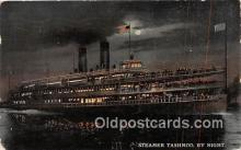 shi045317 - Steamer Tashmoo  Ship Postcard Post Card