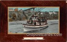 shi045319 - Maid of the Mist Niagara Ship Postcard Post Card