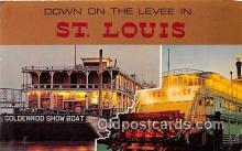 shi045322 - Goldenrod Show Boat St Louis, Missouri USA Ship Postcard Post Card