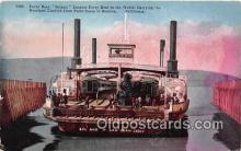 shi045328 - Ferry Boat Solano Benicia, California USA Ship Postcard Post Card