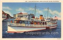 shi045335 - Glass Bottom Boat Santa Catalina Island, California USA Ship Postcard Post Card
