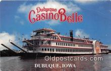 shi045352 - Dubuque Casino Belle Dubuque, Iowa USA Ship Postcard Post Card