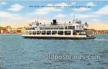 shi045358 - San Diego & Coronado Ferry San Diego, California USA Ship Postcard Post Card