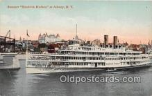 shi045370 - Steamer Hendrick Hudson Albany, NY USA Ship Postcard Post Card
